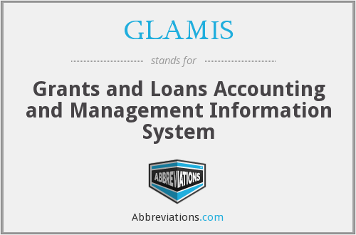 What does GLAMIS stand for?