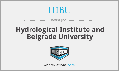 What does HIBU stand for?