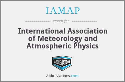 What does IAMAP stand for?