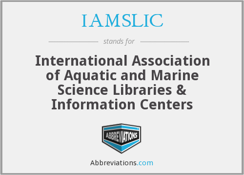 What does IAMSLIC stand for?