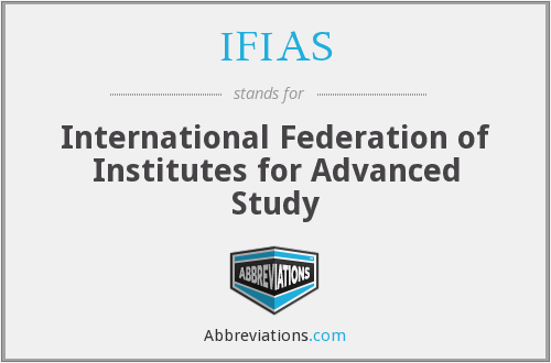 What does IFIAS stand for?