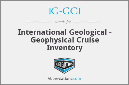 What does IG-GCI stand for?