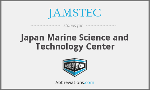 What does JAMSTEC stand for?