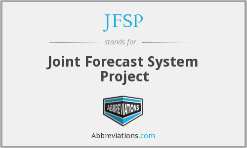 What does JFSP stand for?