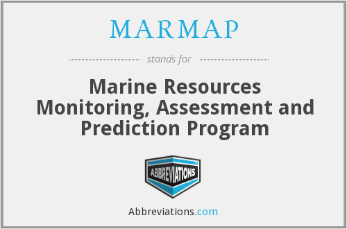 What does MARMAP stand for?