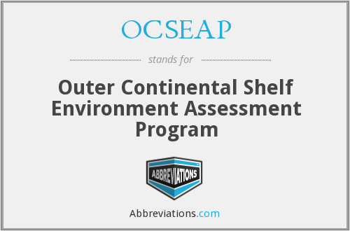 What does OCSEAP stand for?