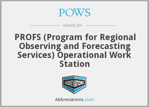 What does POWS stand for?