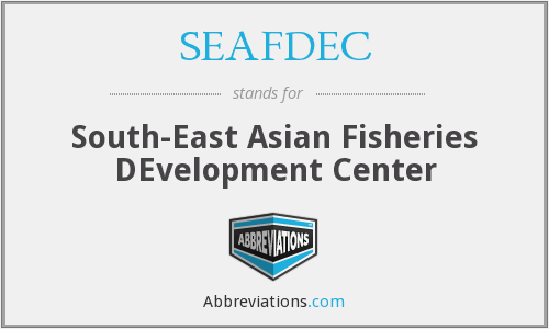 What does SEAFDEC stand for?