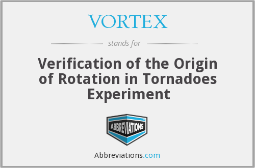 What does VORTEX stand for?
