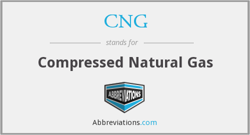 What does CNG stand for?