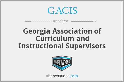 What does GACIS stand for?