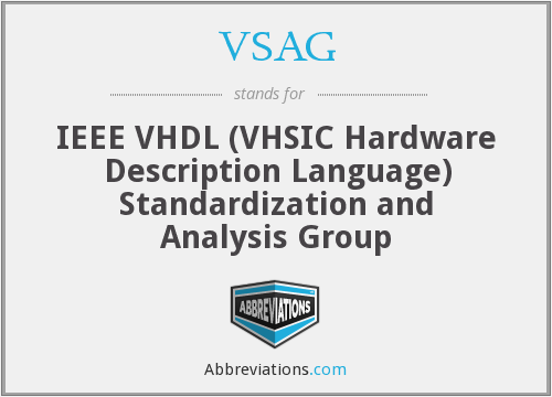 What does VSAG stand for?