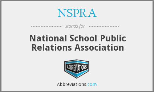 What does NSPRA stand for?