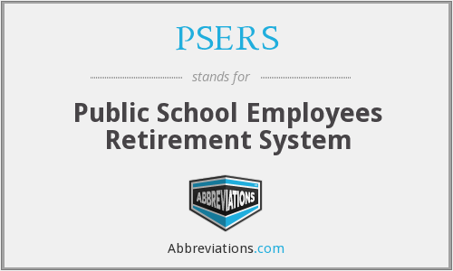 What does PSERS stand for?