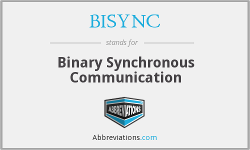 What does BISYNC stand for?