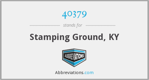 What does 40379 stand for?