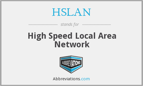What does HSLAN stand for?
