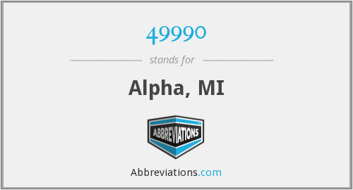What does 49990 stand for?