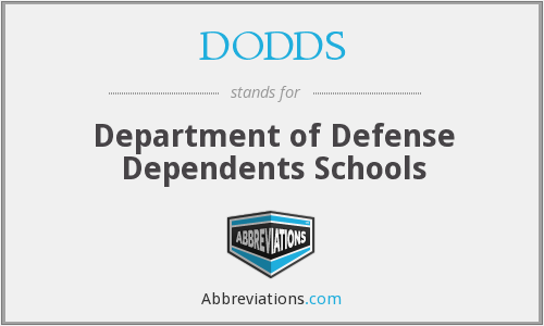 What does DODDS stand for?