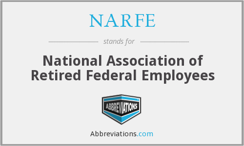 What does NARFE stand for?