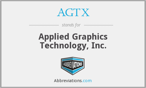 What does AGTX stand for?