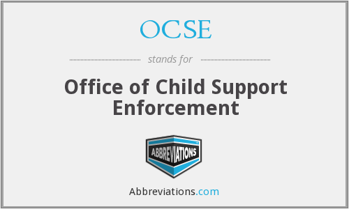 What does OCSE stand for?