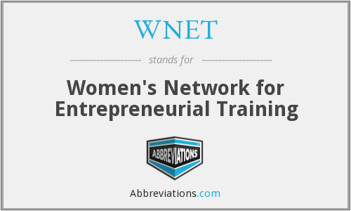 What does WNET stand for?
