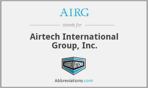 What does AIRG stand for?