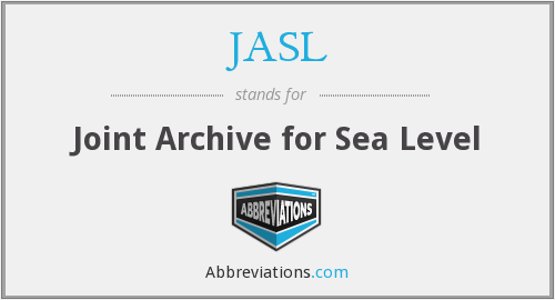 What does JASL stand for?