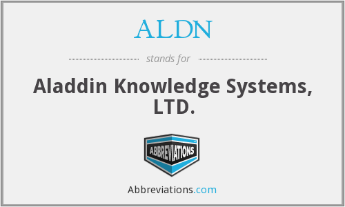 What does ALDN stand for?