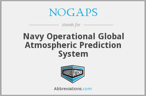 What does NOGAPS stand for?