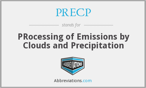 What does PRECP stand for?