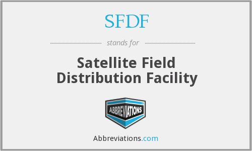 What does SFDF stand for?