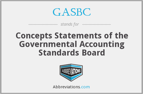 What does GASBC stand for?