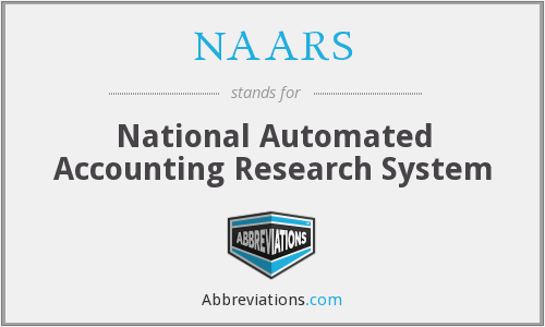 What does NAARS stand for?