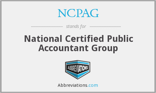 What does NCPAG stand for?