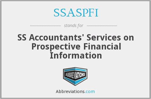 What does SSASPFI stand for?