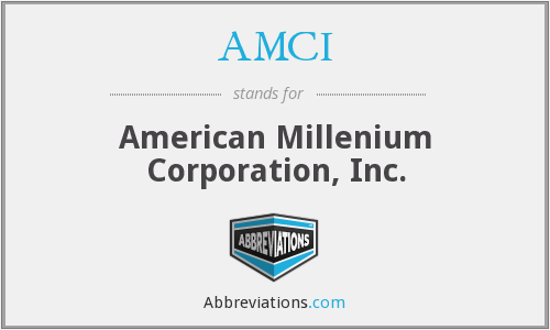 What does AMCI stand for?