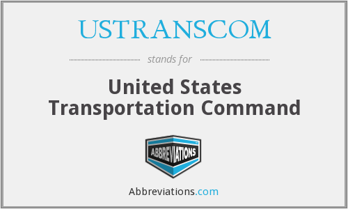 What does USTRANSCOM stand for?