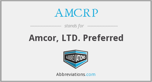 What does AMCRP stand for?