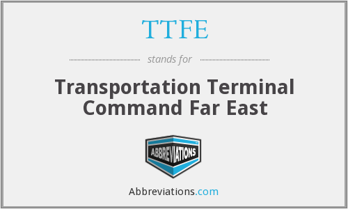What does TTFE stand for?