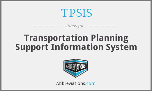 What does TPSIS stand for?