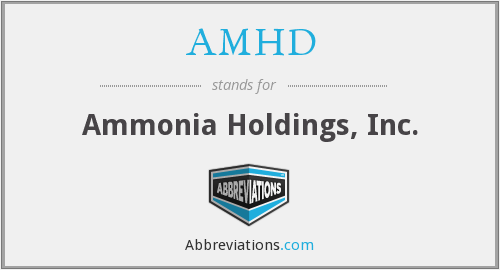 What does AMHD stand for?