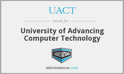 What does UACT stand for?