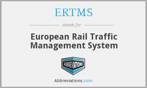 What does ERTMS stand for?