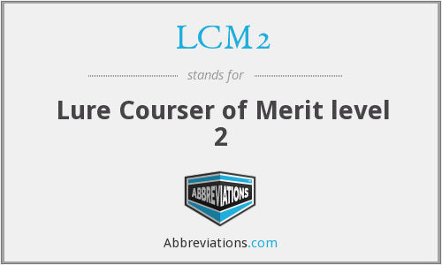 What does LCM2 stand for?