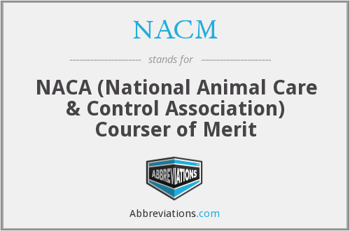 What does NACM stand for?