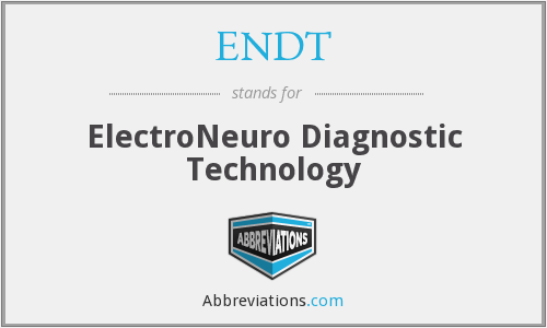 What does ENDT stand for?