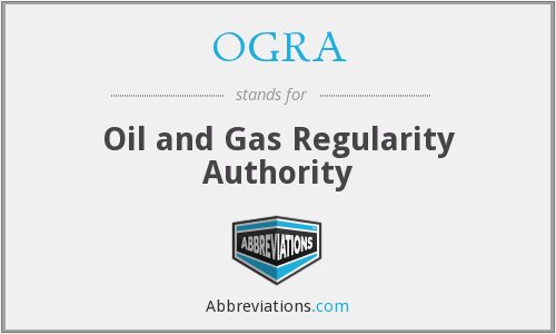 What does OGRA stand for?