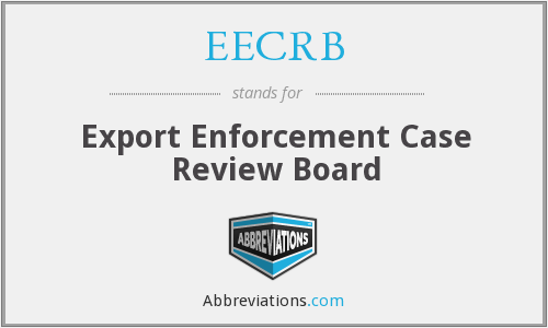 What does EECRB stand for?